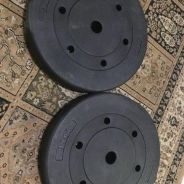 Weight plate 10kg x 2