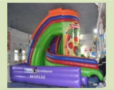 Inflatable pool Dry slide no 1