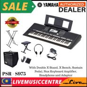 Yamaha PSR-S975 Keyboard Piano D (PSRS975)