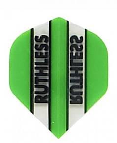 Darts flight ruthless HIJAU 10 sets