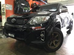 Facelift fortuner trd mix hilux rocco