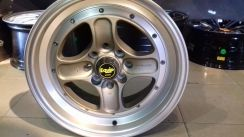 New sport rim EQUIP WORK 15x7.5JJ 8H ET25 (GOLD)