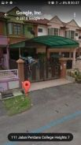 Double story house in sri pajam nilai