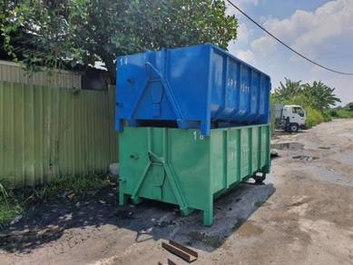 Buat Tong Sampah roro bin manufacturer tong