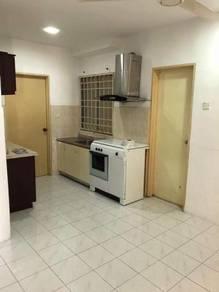 Apartment Vista Impiana Seri Kembangan Bukit Jalil partially furnish