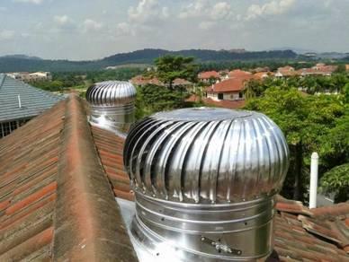 Roof Turbine Ventilator power energy+ free A/vent