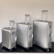 Rimowa Aluminium luggage bag, 20, 26, 29 INCH