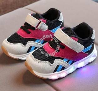 0319 COLORFUL LED LiGHT SNEAKERS FOR BABY SHOES