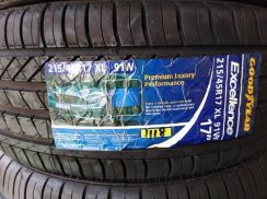 215/45/17 Good Year Excellence Tyre Tayar