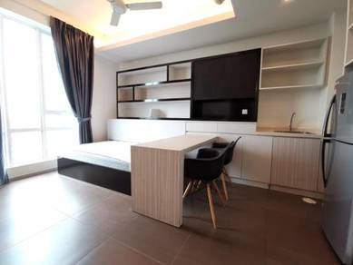 FULLY furnished 2-Queen Bed Garden Plaza Near Limkokwing