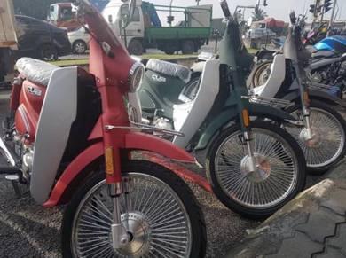 Wmoto cub classic 110-DP spc, hantar motor service