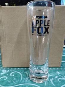 Apple Fox Cider Glass - (1x6)