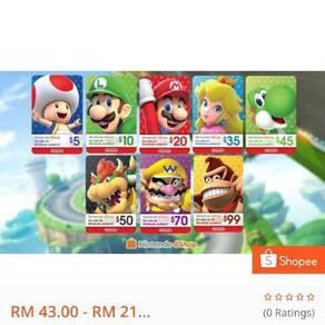 Nintendo eshop card US