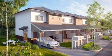 Bdr Seri Coalfields 2 storey house 440k