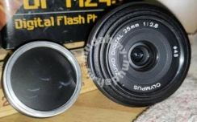 Olympus Zuiko 25mm f/2.8 Digital Lens for Olympus