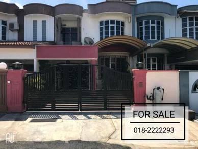 Double Storey House with Balcony | 4B3B | 22x75 Taman Bukit Kepayang