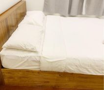 Second Hand Queen Bedframe with Mattress