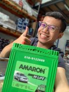 Bateri Kereta Car Battery Deliver 4u Myvi axia