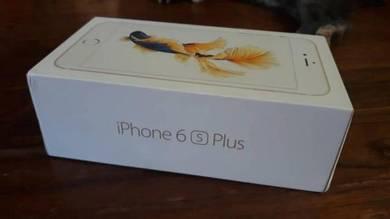Empty box iphone 6s plus gold - 32 gb
