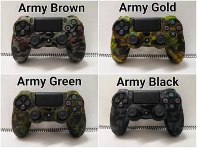 PS4 Controller Silicone Soft Case Set A