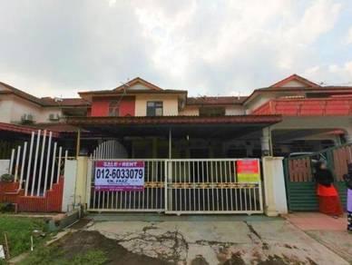 MURAH Teres 2 Tingkat Taman Seri Sementa Kapar Indah Klang RENOVATED