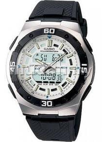 Watch - Casio Daul Time AQ164W-7AV - ORIGINAL