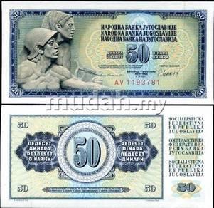 Yugoslavia 50 dinara 1981 p 89 unc