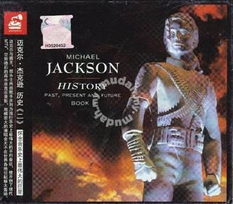 CD MICHAEL JACKSON History Book 2