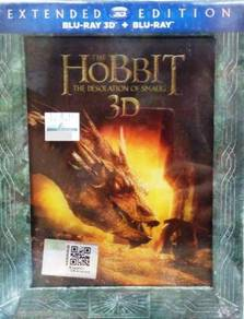 Blu-ray 3D The Hobbit The Desolation of Smaug