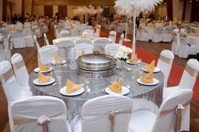 Sewa Sarung Kerusi Banquet & Sarung Kerusi Plastik