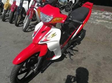 Yamaha 125ZR VERY NEW Harga on the road Loan Kedai