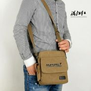 MANJIANGHONG canvas shoulder bag