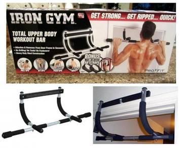 Workout bar iron gym 344