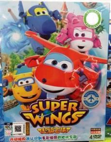 DVD SUPER WINGS Season 1 (4DVD)