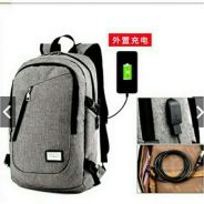 Backpack Laptop Charging Point