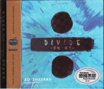 IMPORTED CD Ed Sheeran Divide 3CD