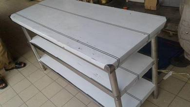 4FT Stainless Steel 3 Level Table TG876