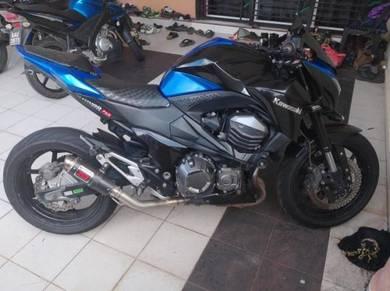 Kawasaki z800 untuk dilepaskan