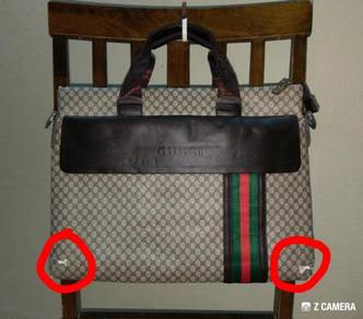 Briefcase GUCCI GG - Defect (Bundle)