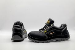 Black Super Hottest light weight safety shoes