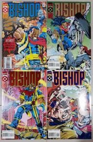 X-Men Solo - Bishop MiniSeries - 4 comics
