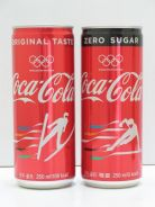 Coca-Cola Coke Pyeong Chang Olympic Can