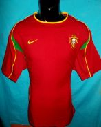 Portugal 2002 home jersey L