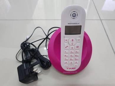 Motorola model: C601 cordless phone wireless phone