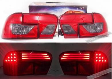 Wira Tail Lamp Lampu LED NEO LIGHT BAR RED/SMOKE 2