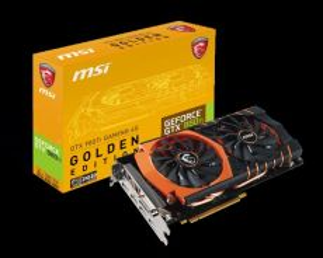 MSI 980TI Golden Edition