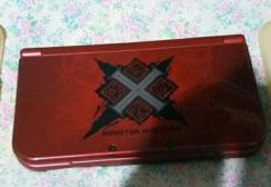 New Nintendo 3ds LL Monster Hunter Special Edition