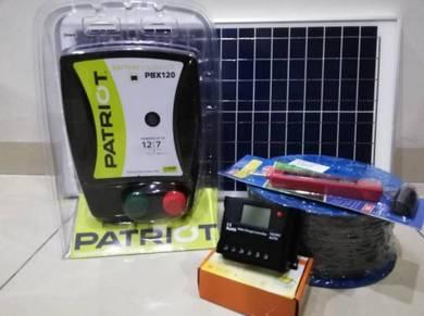 12KM pagar elektrik solar New Zealand- Pakej B