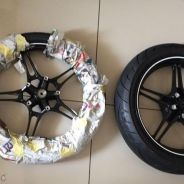 Sport rim and tyre