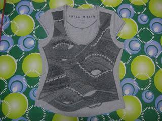 Jaker 68 KAREN MILLEN grey ladies shirt